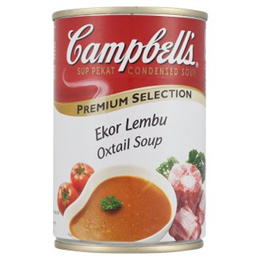Campbell s Premium Selection Oxtail Soup Condensed Soup 305g [Halal Certification]