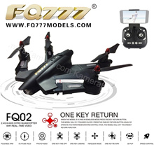 Drone FQ777 FQ02W Camera Wifi FPV 2.4G 6 Axis Quadcopter - Black