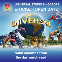 Universal Studios Singapore-USS E-ticket Singapore attraction Email delivery One day pass open date