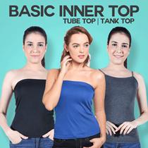 Kemben Wanita Warna Basic - Tali dan Tanpa Tali - High Quality - Women Underwear