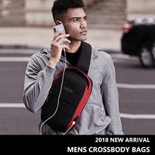 New 2018 Arrivals - Men Sling/Chest /Messenger/ Shoulder/ Crossbody Bags - Casual Travel Sports
