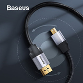 Baseus Thunderbolt to HDMI Cable Mini DisplayPort DP Port to HDMI 4K 60HZ Adapter Cable For Macbook