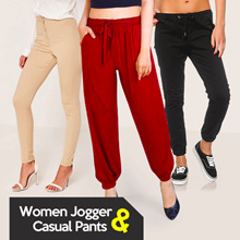 BEST SELLER!  WOMEN JOGGER AND CASUAL PANTS - CELANA WANITA - AVAILABLE BIG SIZE