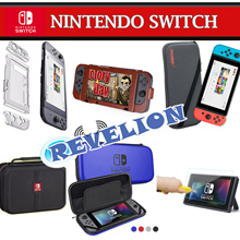 ★NEW★[Stocks in SG!] Nintendo Switch Case Pouch Bag Tempered Glass Screen Protector