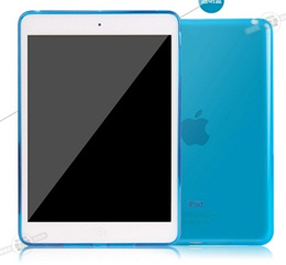 Water Case For Apple iPad 5 TPU Transparent Soft jelly Cover