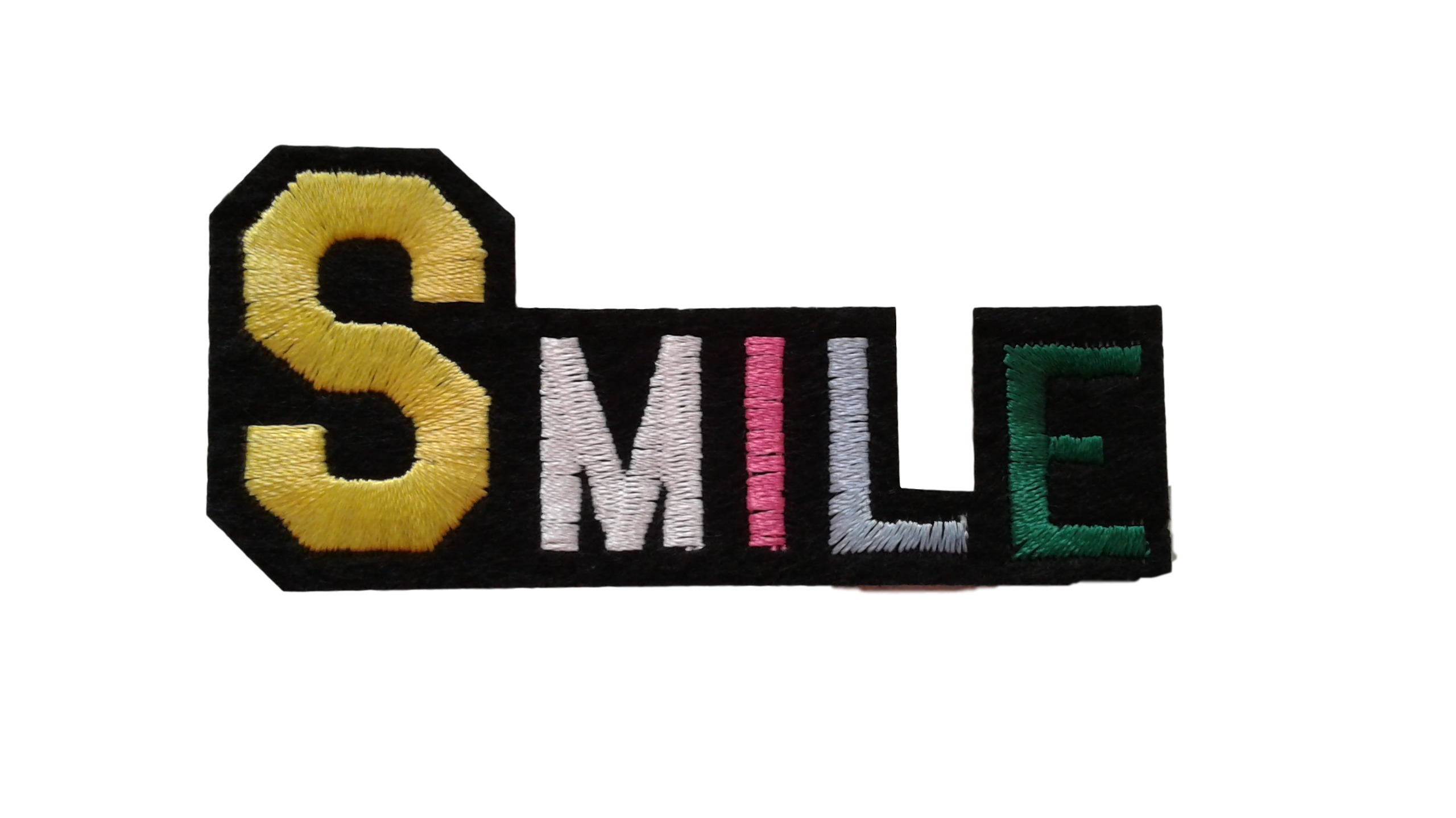 Qoo10 smile word patch : mens apparel