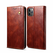 high quality leather case iPhone 12 11 Pro Max XS Max XS XR X wallet cover