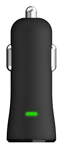 buy popular 645ed 80d18 (mophie) mophie single USB Car Charger for iPhone and Android Smartphones  (2.4A) - Black-3361_USB...