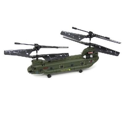 Qoo10 - SYMA S026G CHINOOK 3-CHANNEL RC HELICOPTER w/GYRO