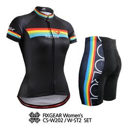 FIXGEAR LT-W16 Women Cycling Padded Tights Road Mountain Bike Wear MTB Bicycle