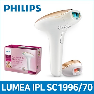 [∯177 41]Philips LUMEA IPL Essential SC1996 / 70 Laser Hair Removal  Epilator ★ Permanent hair reduction at home