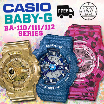 bbfd891351a3 CASIO BABY-G BA-110 BA-111 BA-112 SERIES - 100
