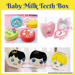 Baby Milk Teeth Box Storage Box Memories of Love Organizer Box Teeth storage box