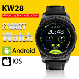 NEW!! KW28 Smartwatch◎Touchscreen and SD card Motion tracking Distance pedometer Fashion!!