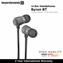 Beyerdynamic Byron BT Earphones (Black) 2 Year International Warranty