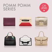 Pomm Pomm Series / Tas Tangan / Women Bag / Handbag / Korean Style / Import / PoMM Korea
