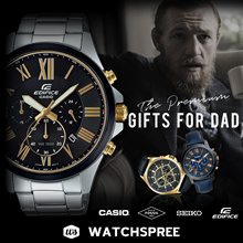 Father Day Special Premium Gifts For Him. Fossil Casio Seiko Edifice Watches!
