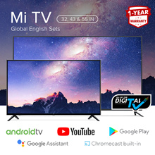 【Digital-Ready】Mi LED TV | 32 43 55 in | Global English Sets | Xiaomi Smart Android TV
