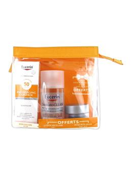 Eucerin Sun Protection Photoaging Control Sun Fluid SPF 50 50ml + Free Micellar Lotion + Night Cream