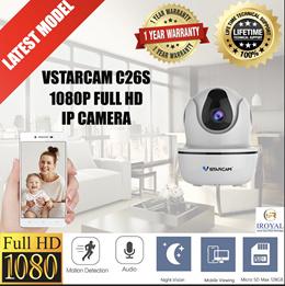 VSTARCAM C26S 1080P FULL HD WIFI IP CAMERA