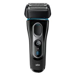 Braun Series 5 5140s Men's Electric Foil Shaver Wet  Dry Pop Up Precision Trimmer Black/Blue New