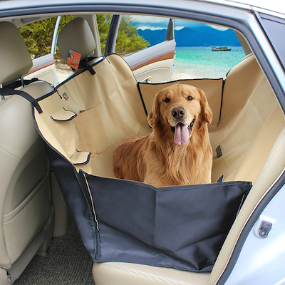 Extra Large Thicken Durable Car Back Seat Protector Dog Vehicle Hammock Covers For Pets