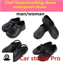 ★Professional non slip shoes★ Chef Shoes Kitchen Nonslip Shoes Safety shoes Water even on safety/spe