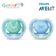 Philips Avent Berry Soother 6-18m(Twin Pack)