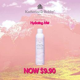 Katherine  Bobby Natural Spring Hydrating Mist