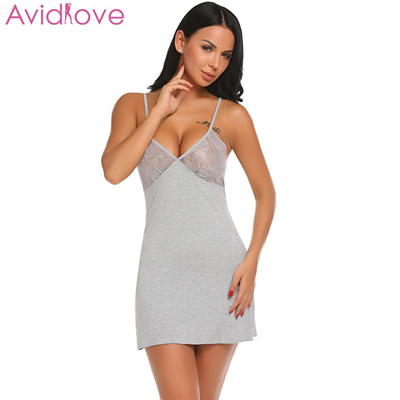 3147170f4b8 Qoo10 - avidlove women sexy seethrough lingerie babydoll strap lace mesh  sleepwear mini night jumpsuit onepiece Search Results   (Q·Ranking): Items  now on ...