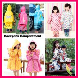 ★2pc FREE Shipping★Children/Adult Raincoat Rainboots Umbrella Cute Princess