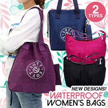*New Designs Added* 2018 new waterproof nylon bag simple shoulder bag small bag multi compartment