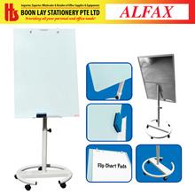 ALFAX Tempered Luxury Glass Flip Chart Board  70x100cm