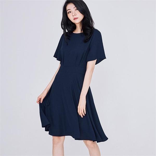 フェミニンミディワンピースJ91NOP576new ニットワンピース/ワンピース/韓国ファッション