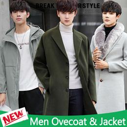 57113fdaf84 2019 Men s Jacket   Double-breasted coat   Couple coat   Woolen coat    Trench