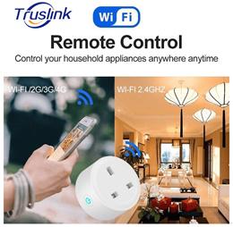 WiFi Wireless Remote Control Socket Smart Timer UK Plug Smart Home Power Socket Switch APP Remote