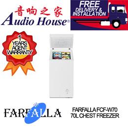 FARFALLA FCF-W70 70L CHEST FREEZER ***1 YEAR FARFALLA WARRANTY***