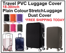 Plain Colour Stretch Luggage Dust Cover/Travel Luggage Cover/Durable Lasting/Protective Protector