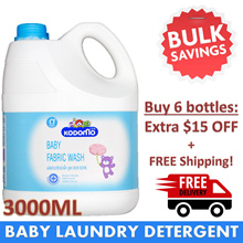 ★ KODOMO ★ LAUNDRY DETERGENT 3000ML. Suitable for Newborns.
