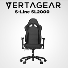 Vertagear Racing Series S-Line SL2000 Gaming Chair (Black)