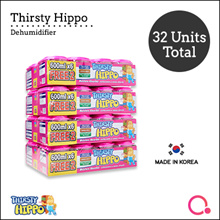 RB - 32 x Thirsty Hippo Dehumidifier 600ml - Official stocks ship within 1 working day