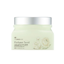 ★The Face Shop★ PERFUME SEED WHITE PEONY BODY SCRUB (180ml)