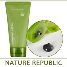 NATUREREPUBLIC Bamboo Charcoal Mud Pack 150g / Cleansing pore-clogging impurities / Wash-off Pack