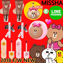 ★11/20 NEW ADDED★MISSHA x LINE FRIENDS 2018 NEW COLLABO。★LIMITED★LIP TINT/ BB CREAM/ MASCARA/CUSHION