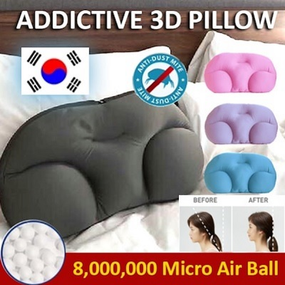 ★Popular in Korea ★ 8 Million Micro air balls ADDICTION PILLOW/ 3D Ergonomic design