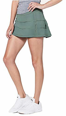 ▶$1 Shop Coupon◀  Lululemon Pace Rival Skirt 4-Way Stretch Juni - Size 8