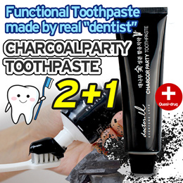 [doctorel] Korea Bamboo Charcoal Toothpaste/ Buy 2 Get 1 free!! / 120ml / made in Korea