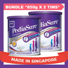 [BUNDLE DEAL] Pediasure Complete Milk Powder * 850g x 2 TINS = 1.7KG *