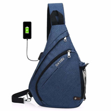 Sling Bag - Small Crossbody Backpack for Men  Women