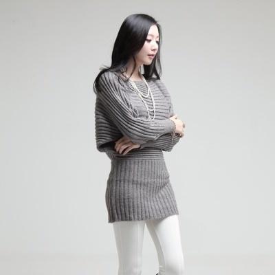 [Judbibian] Volum foresleeve mink knit dress